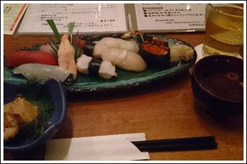 ごっ八、特上寿司