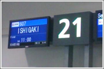 那覇~石垣(JTA607)
